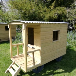 Our 'standard' mini shepherd's hut